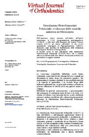 Stimolazione NeuroSensoriale Polimodale: evoluzione delle tecniche in Odontoiatria