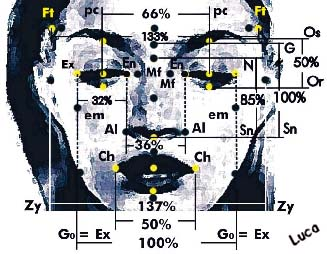 """The """"Beauty"""" of Homo sapiens sapiens: standard canons, ethnical, geometrical and morphological facial biotypes. (third part)"""
